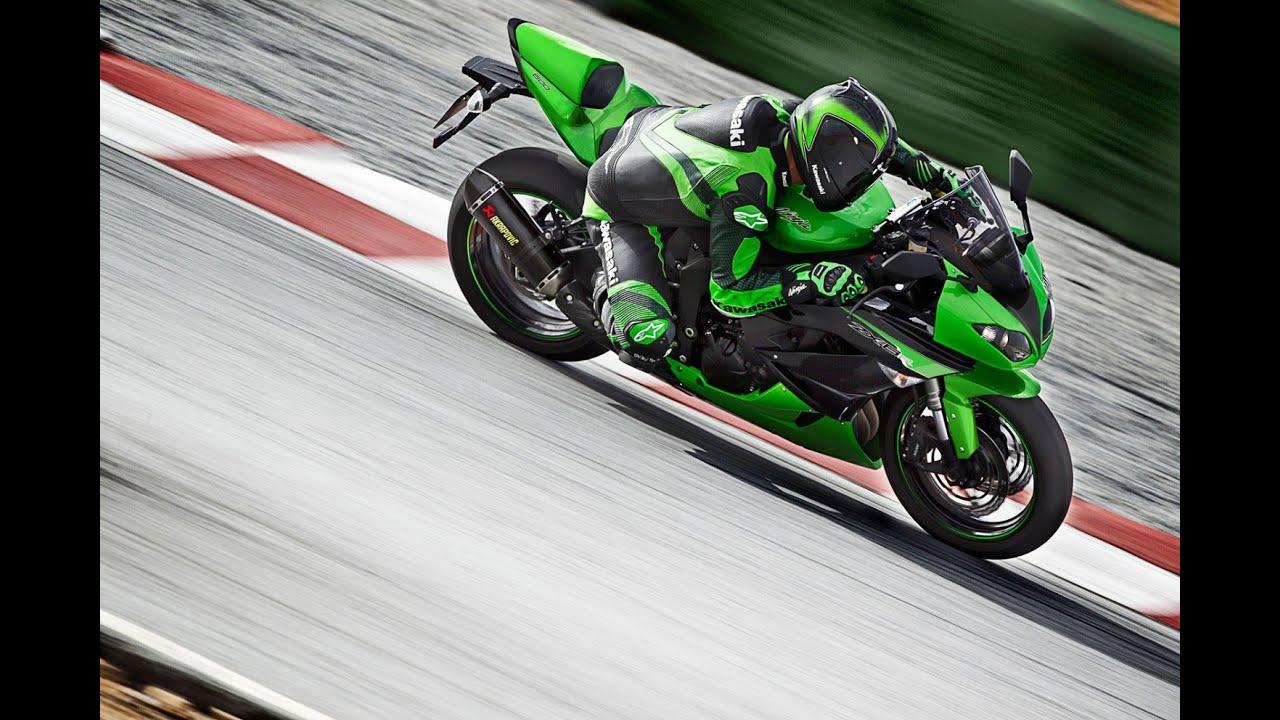 2012 Kawasaki Ninja ZX6R Rider Review - YouTube
