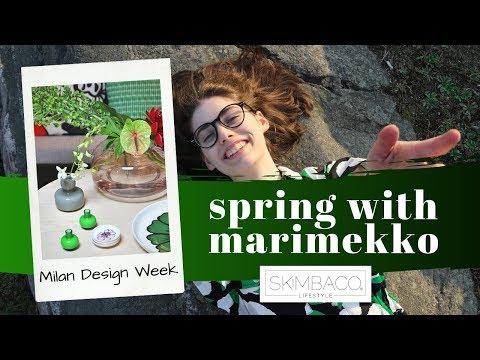 Marimekko Spring 2019 - Milan Design Week and Fashion Favorite