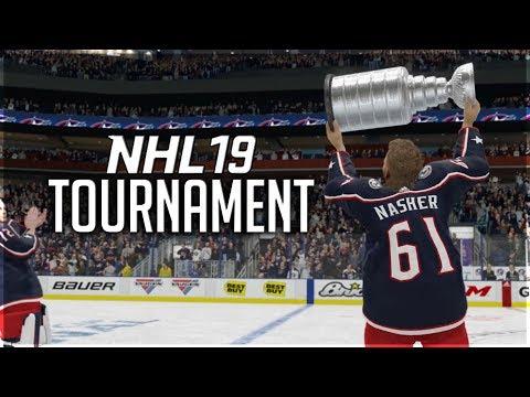 WINNING MY FIRST NHL 19 TOURNAMENT?!