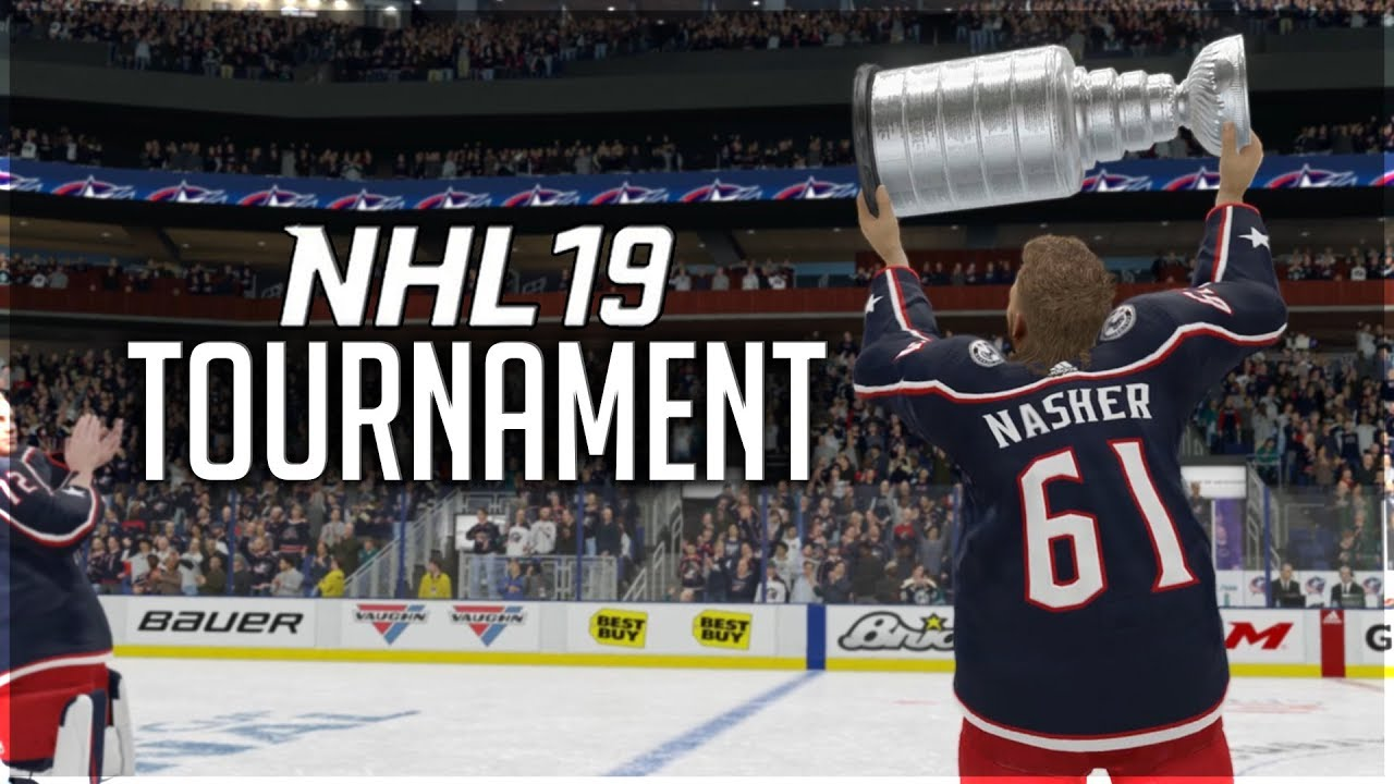 Winning My First Nhl 19 Tournament Youtube