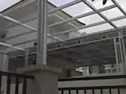 harga kanopi baja ringan atap polycarbonate youtube