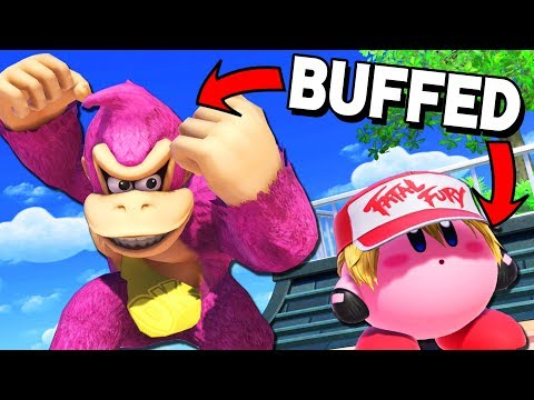 New BUFFED Characters vs. Elite Smash