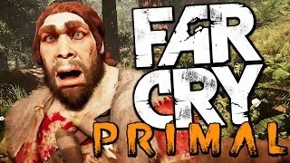 KILLING CAVEMAN IN THE STONE AGE - Far Cry Primal Gameplay Funny Moments