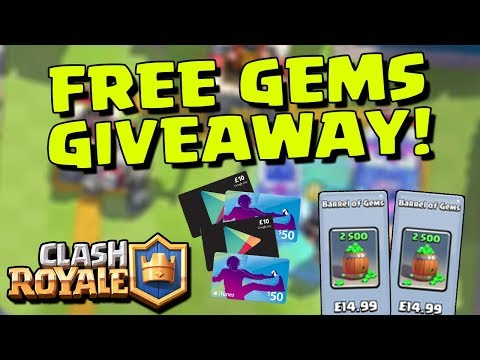 how to get gems really fast in clash royale