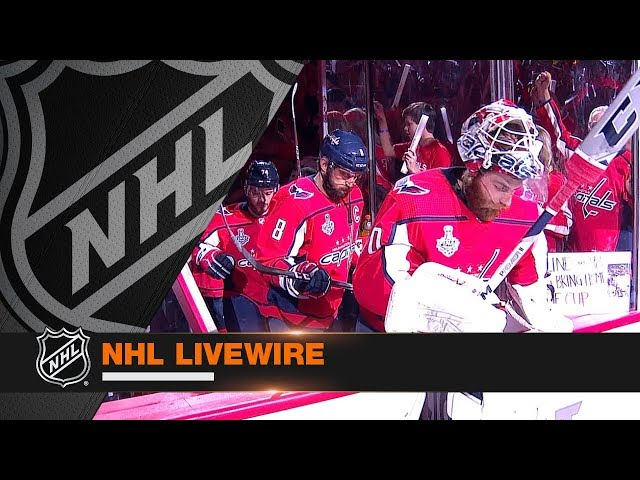 NHL LiveWire: Capitals, Golden Knights mic'd up for crucial Game 4 battle