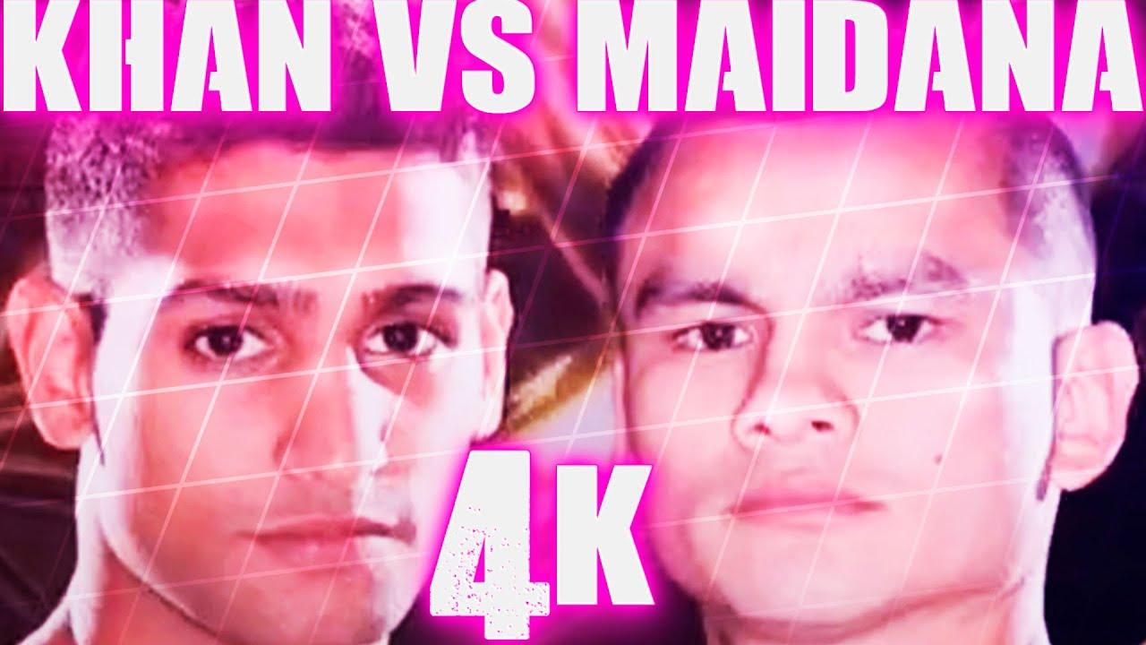 Amir Khan vs Marcos Maidana (Highlights) 4K