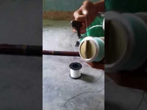 Cách câu cá nhái bằng tơ