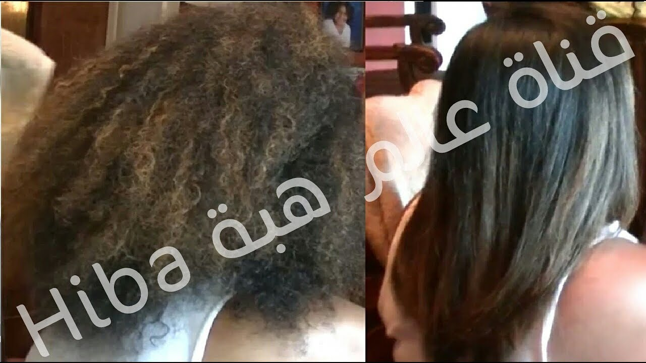 d14340387 صدق او لا تصدق هذه الخلطة تقوم بتنعيم الشعر الخشن و المجعد يوصي بها خبراء  اكبر صالونات الحلاقة