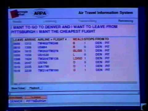 CMU Air Travel Reservation Dialog System