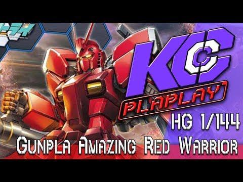 KC Plaplay # Gunpla Amazing Red Warrior #