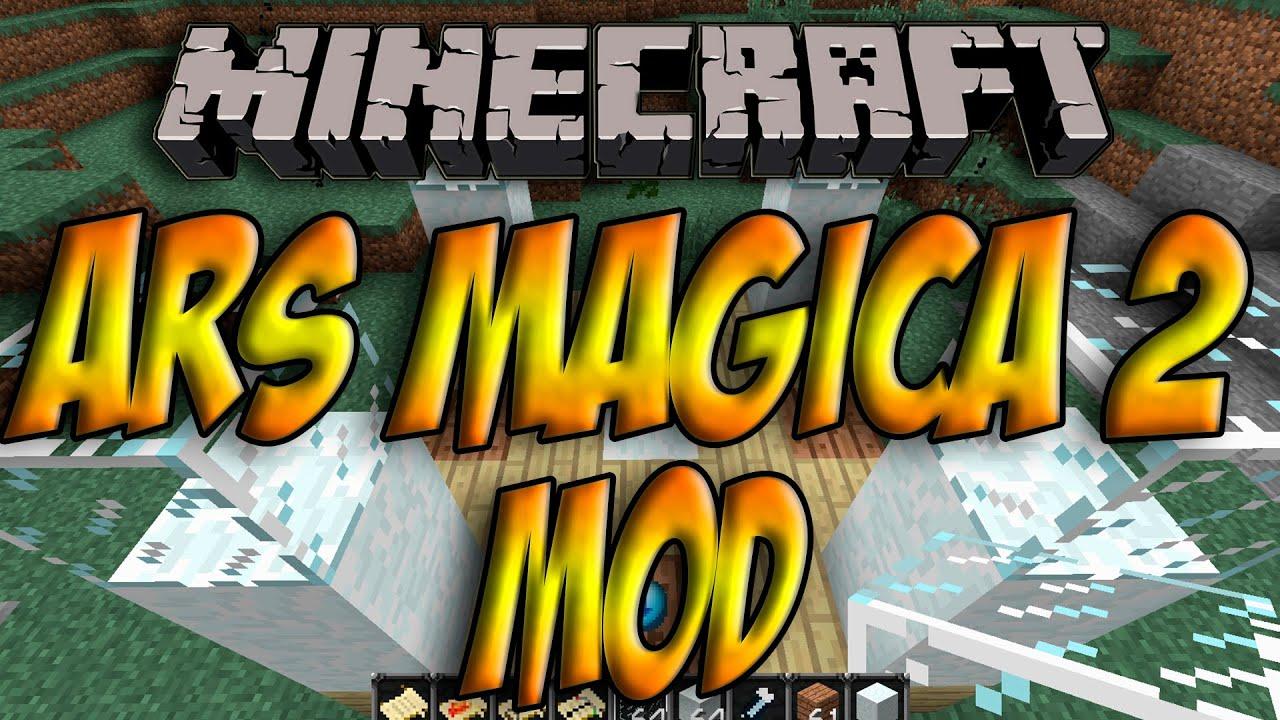Minecraft 1.6.4 - Como Instalar ARS MAGICA 2 MOD - ESPAÑOL [HD ...