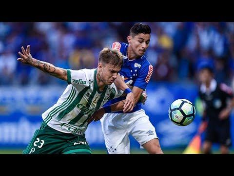 Melhores Momentos - Gols de Cruzeiro 1 x 1 Palmeiras - Copa da Brasil (26/07/2017)