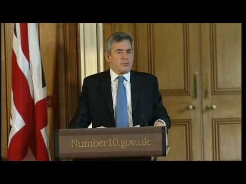 Gordon Brown and Jacob Zuma talks about Zimbabwe