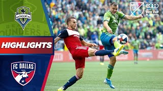 Jordan morris and the seattle sounders look to reach their 3rd mls cup final in four years as they take on a young fc dallas team 1st round of 201...