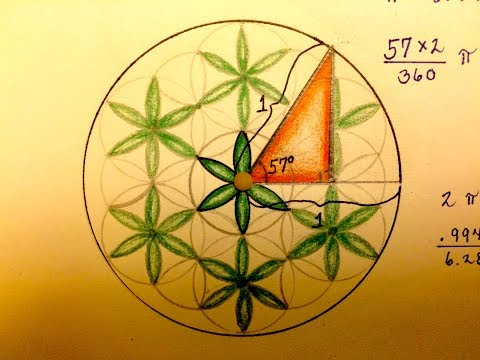 How to Solve Trig Problems with Sacred Geometry: Part 1/2