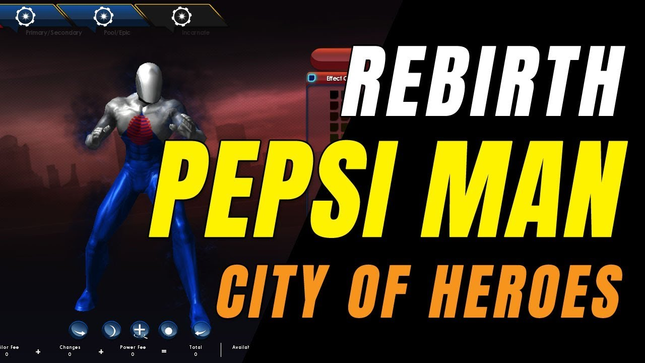 Video - CITY OF HEROES REBIRTH (i24) by Ouroboros (5 19 2019