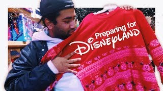 Preparing for Disneyland! || Nathan Naiker