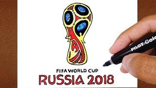 Como Desenhar o logotipo da Copa do Mundo Rússia 2018