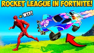 *ROCKET LEAGUE* IS BACK IN FORTNITE!! - Fortnite Funny Fails and WTF Moments! #1068