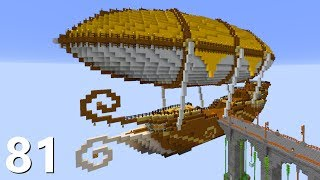 Najpiękniejszy Latający Statek! - SnapCraft III - [81] (Minecraft 1.14 Survival)