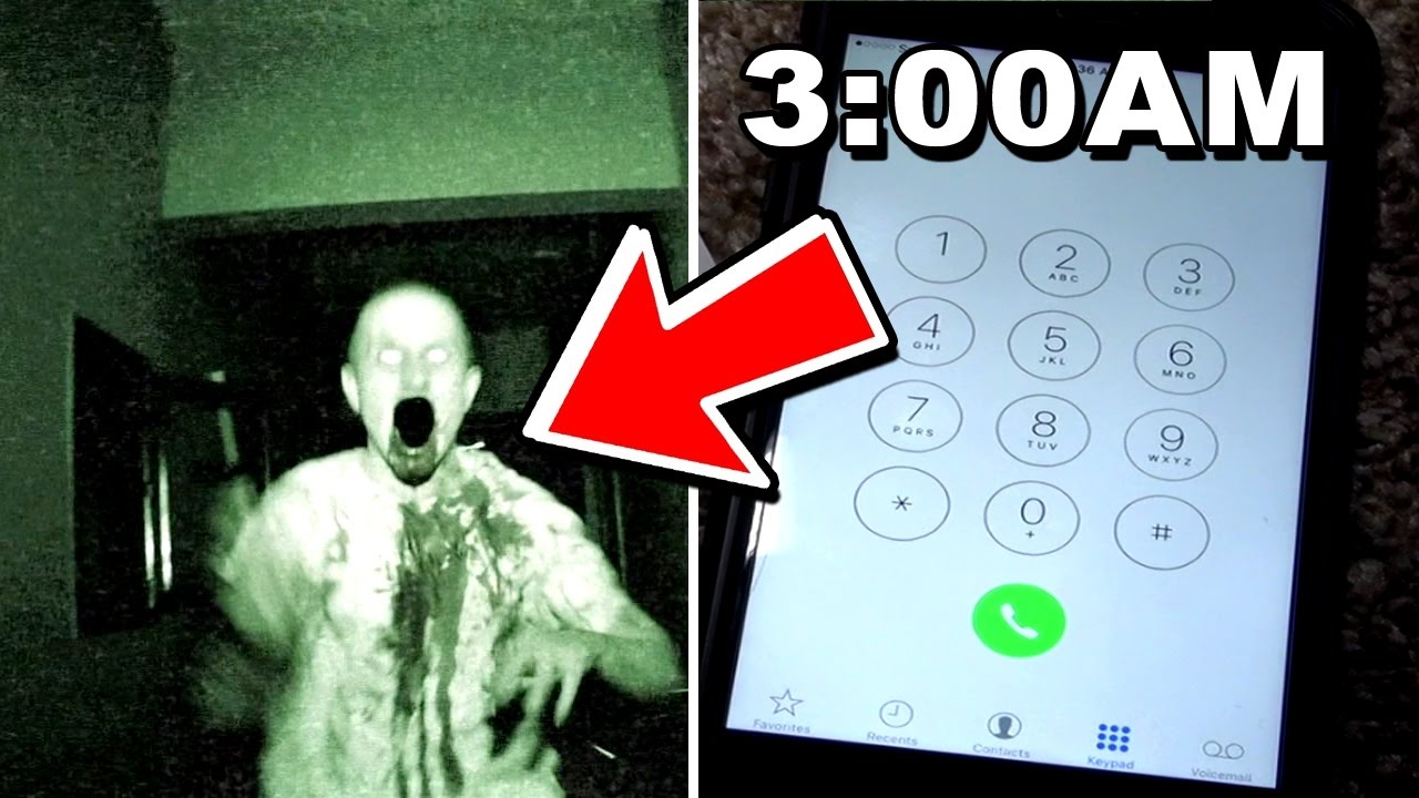 What happens when you call this haunted phone number at 3AM? (Devils Hour)