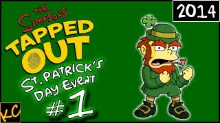 KC Plays! - TSTO   St. Patrick's Day Event - Part #1 (2014)