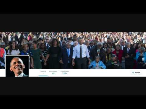 Obama joins Twitter, sends his first tweet