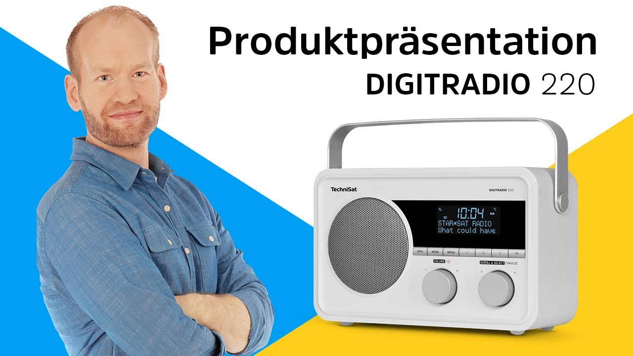 Video: DIGITRADIO 220 | Produktpräsentation | TechniSat