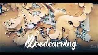 Woodcarving Baroque Element ►► Timelapse Урок Резьба по дереву Барокко Элемент