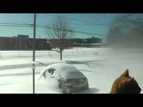 Time-lapse Video, 3 Days in 3 Minutes of the Washington, D.C. 2016 Blizzard, Panasonic HDC-HS700