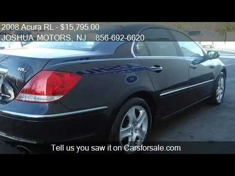 2008 acura rl tech pkg for sale in vineland nj 08360 youtube. Black Bedroom Furniture Sets. Home Design Ideas