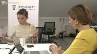 Ірена Карпа в студії Hromadske.TV