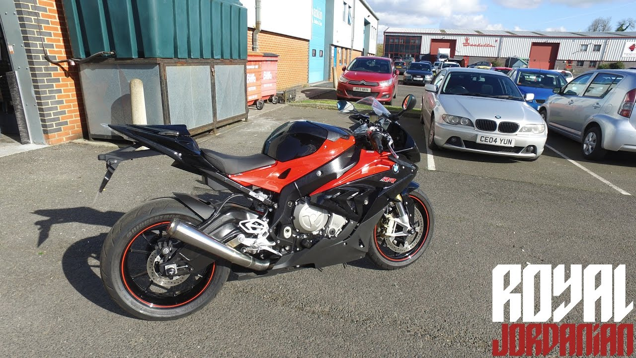 BMW S1000RR With GF Moto Full Inconel Exhaust System