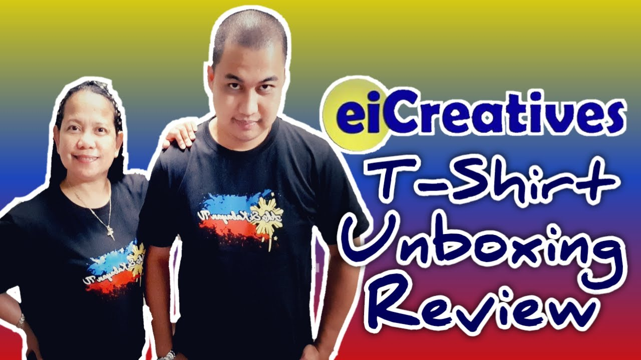 Unboxing at Review ng Unang  kong Ako Si Kabayan (Ask TV) T-Shirt by eiCreatives