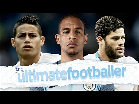 FERNANDO'S ULTIMATE FOOTBALLER | HULK, JAMES RODRIGUEZ & FER
