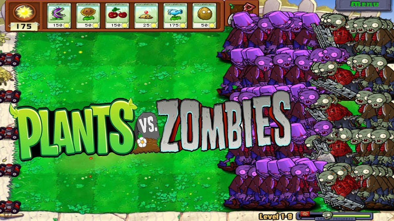 Plant vs zombies pvz hack - Hypno Bruckether zombies vs all the zombies lader