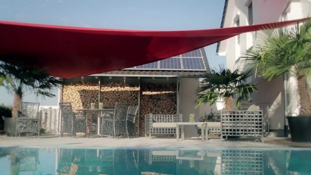 Hipp Sonnensegel  intelligenter Sonnen und Regenschutz