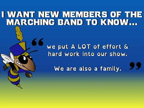 What We Want New LTX Marching Band Members to Know...
