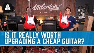 The Shitan Guitar Mod Shop Challenge! Plus WIN the Modded Guitar!