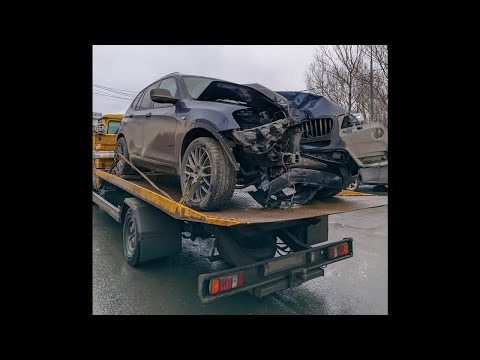 Как мы чинили BMW X3 после аварии Body Repair