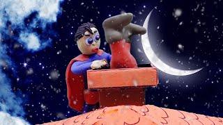 Santa Need Help Stop Motion - Baby Videos & Kids Cartoons / OKG