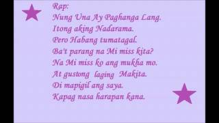 CRUSH NA CRUSH KITA  Official LUV U theme song  LYRICS TWEENS OF POP