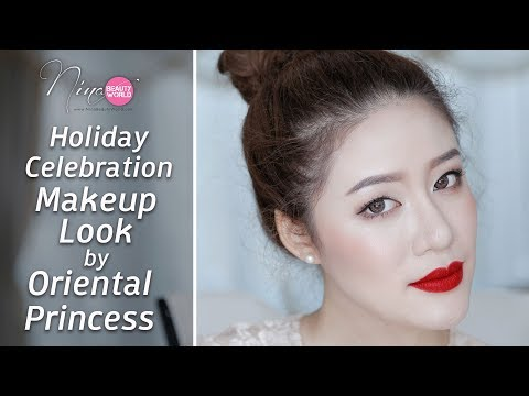 HOW-TO || Holiday Celebration Makeup Look by Oriental Princess || NinaBeautyWorld - วันที่ 30 Nov 2017