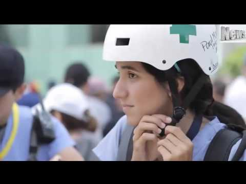 Amid Protests in Venezuela Medical Students Become Vital to Survival