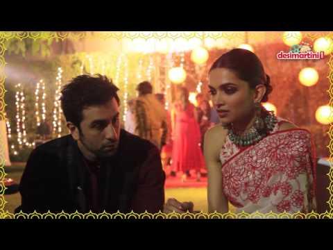 Ranbir Kapoor And Deepika Padukone Cele Te Diwali During Ta Promotions
