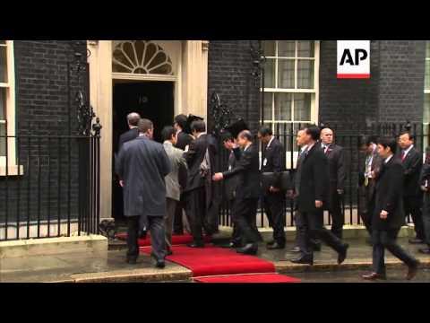 South Korea's first female president meets UK prime minister