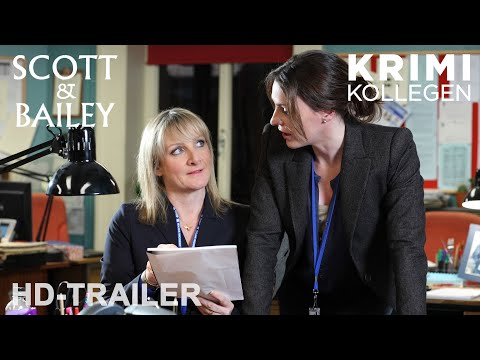 SCOTT & BAILEY -  Staffel 1 -  Trailer deutsch [HD] || KrimiKollegen