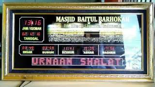 Download Video Jam digital masjid - jual jadwal sholat digital harga murah MP3 3GP MP4