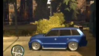 GTA IV هيدروليك في سيارات قراند حرامي السيارات مع DODO