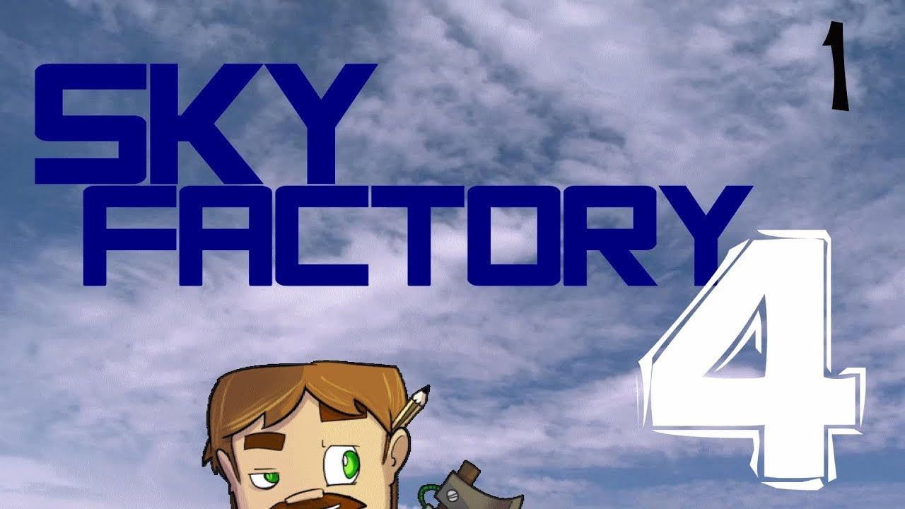 SkyFactory 4: Modded MInecraft: Episode 1: Getting Started!